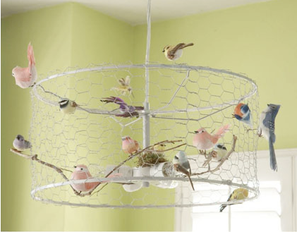 Wire lampshade with birds choice image wiring table and diagram whimsical lovely ramshackle glam danny seo created this for just 15 using an old ikea lampshade mozeypictures Choice Image