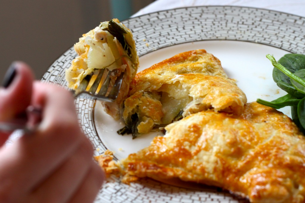 Chicken, Goat Cheese & Pear Turnovers – Ramshackle Glam