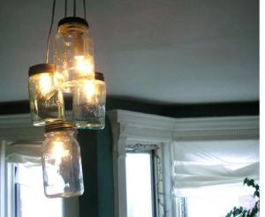 Diy Mason Jar Pendant Lights Ramshackle Glam