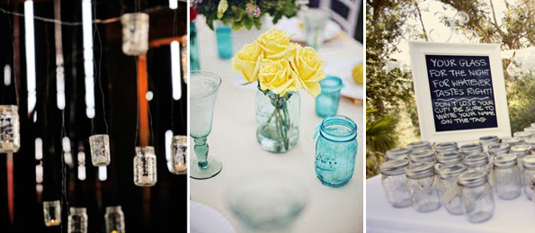 Reader Question Mason Jar Wedding Decor Ramshackle Glam