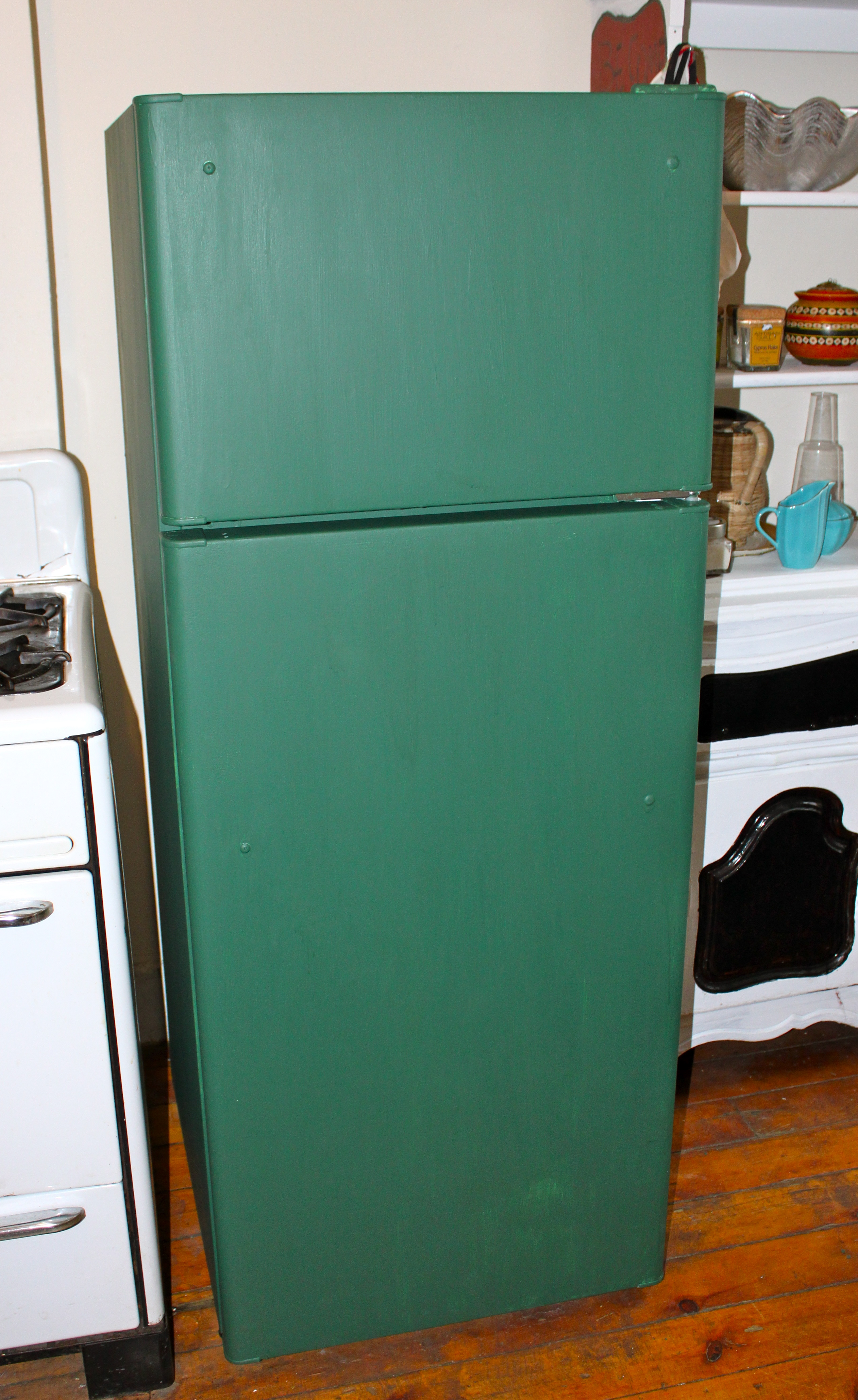 DIY Chalkboard Refrigerator – Ramshackle Glam
