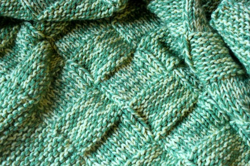 Basketweave Baby Blanket   Ramshackle Glam