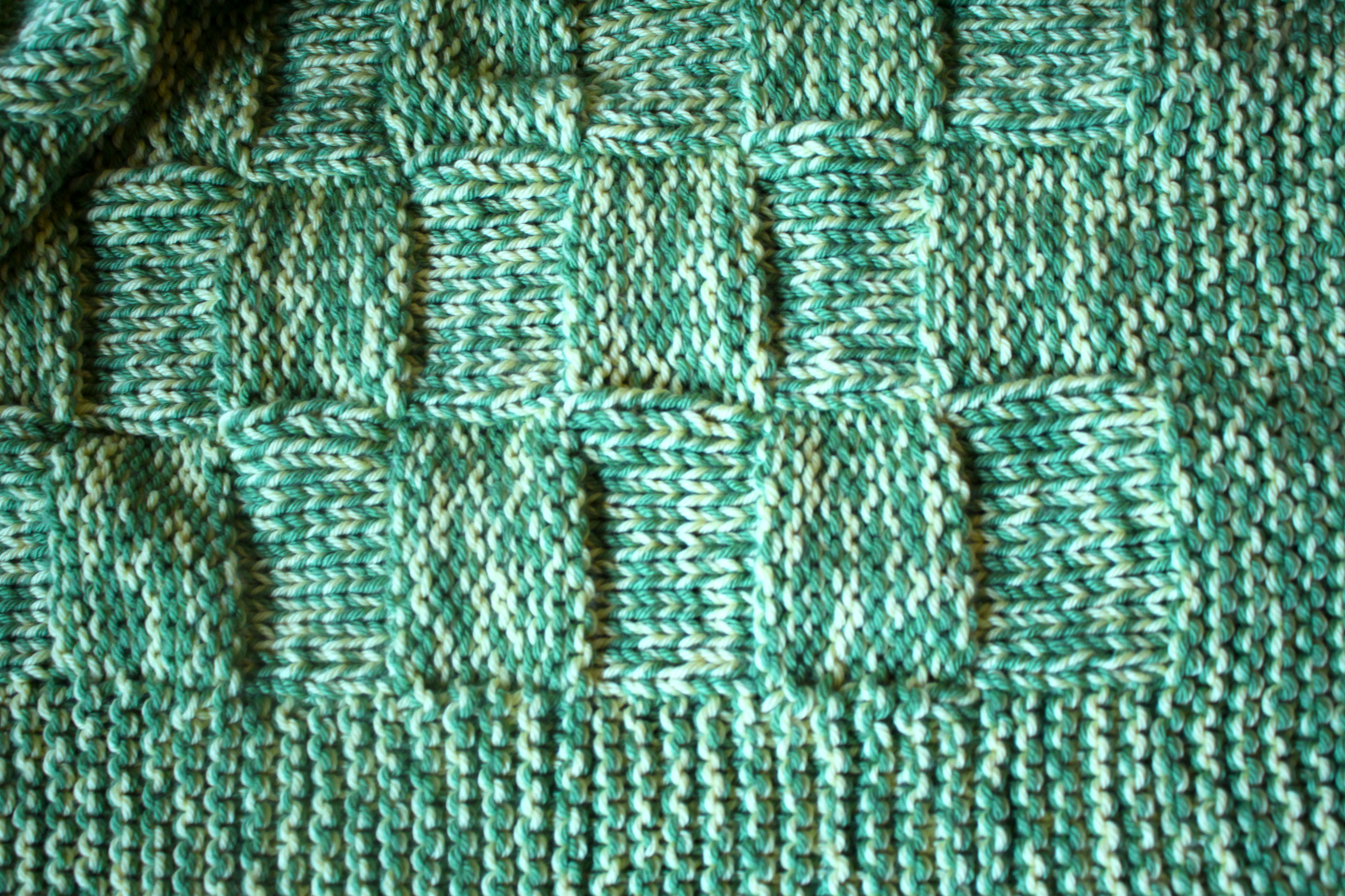 Basketweave Baby Blanket – Ramshackle Glam