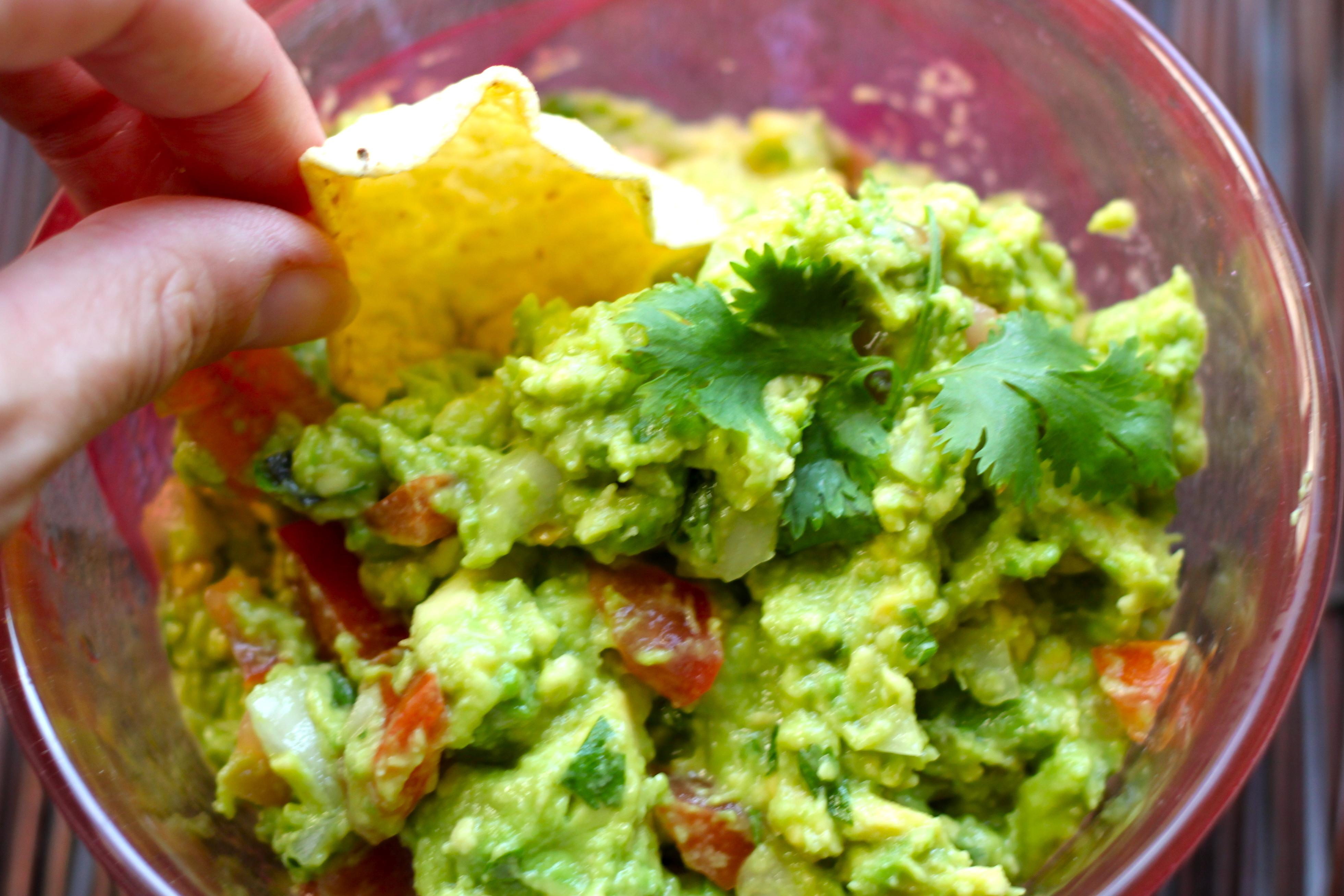 The Best Basic Guacamole Recipe — Dishmaps