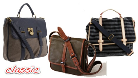 Sturdy, Chic Messenger Bags – Ramshackle Glam