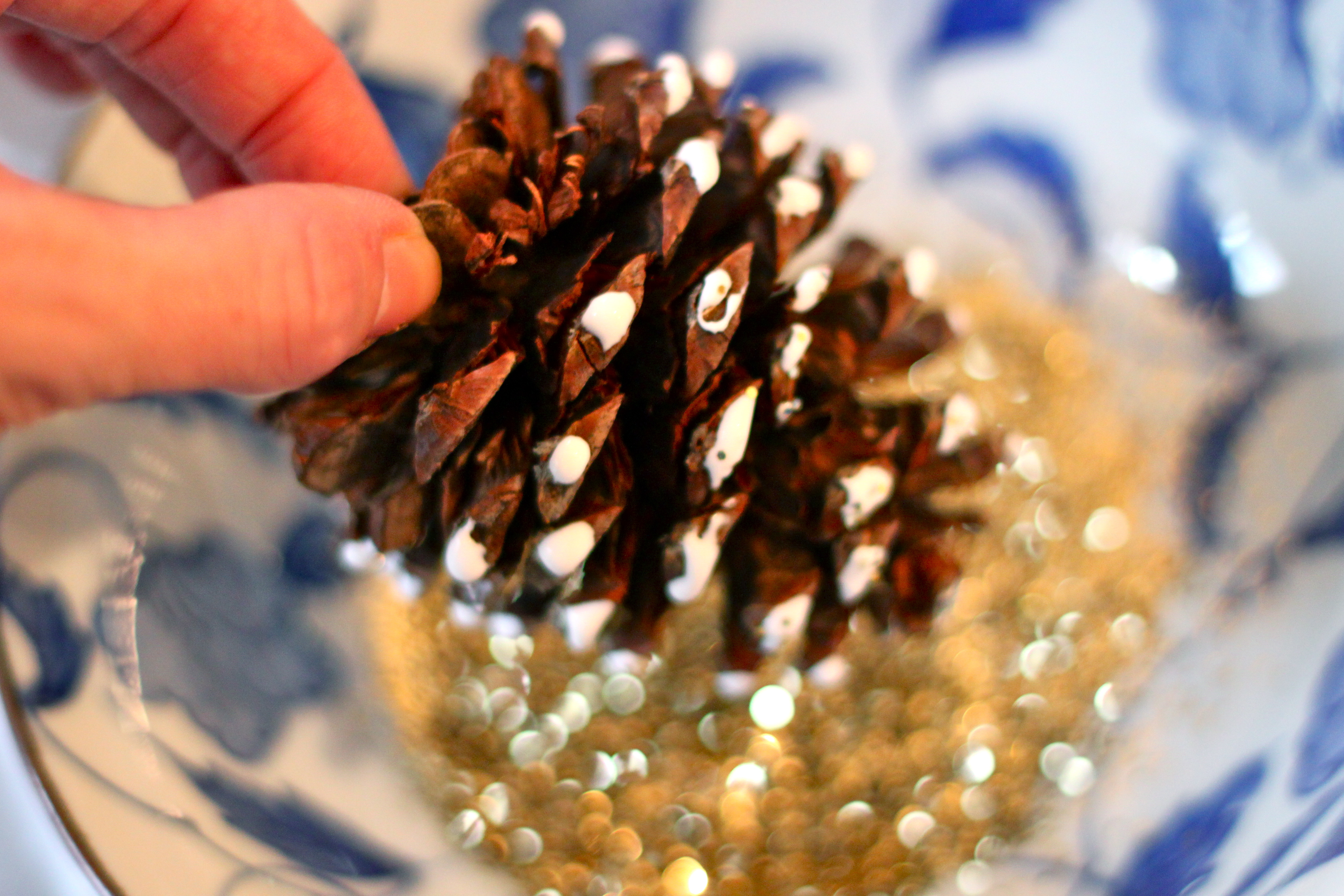 how to make cinnamon oil for pine cones