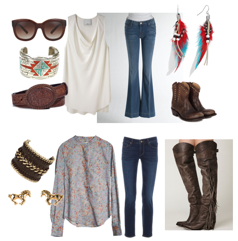 What To Wear To A Rodeo Ramshackle Glam