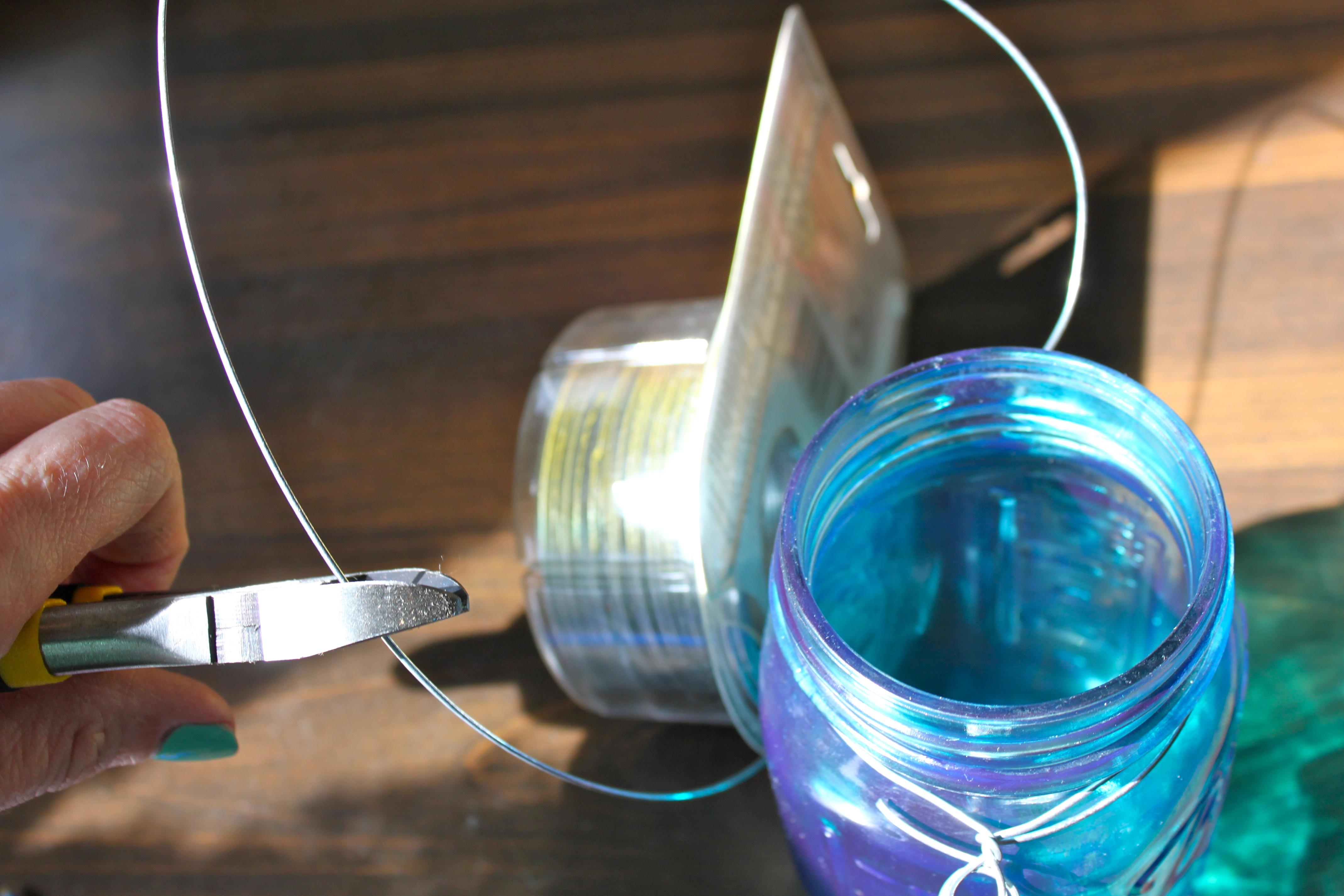 DIY Mason Jar Hanging Lanterns – Ramshackle Glam