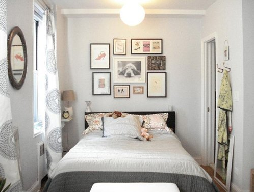 Maximize Bedroom Space itsy bitsy bedroom: maximizing your small space – ramshackle glam