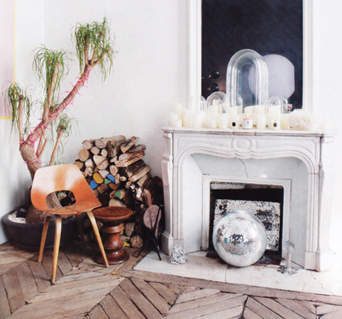Unused Fireplace Decor Ideas