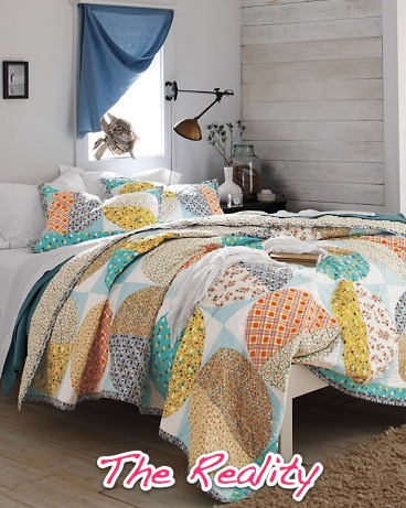 affordable bedding: quilts & coverlets – ramshackle glam