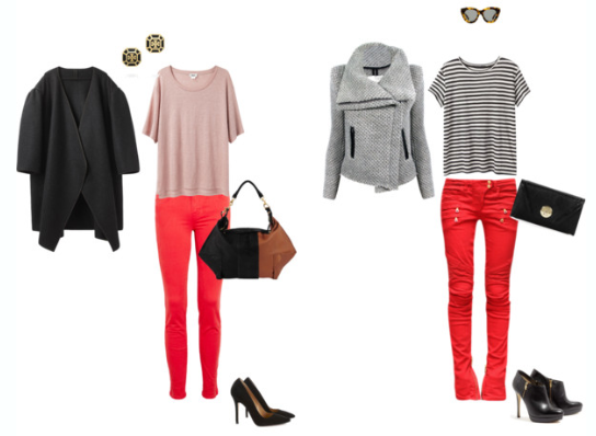 How-To: Wear Red Jeans (Without Looking Like Santa Claus ...