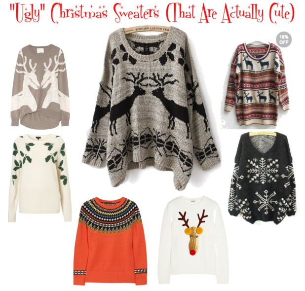 Christmas Sweaters Cute.Ugly Christmas Sweaters That Are Actually Cute
