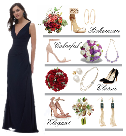 148d1b3704d How-To  Accessorize A Bridesmaid s Gown – Ramshackle Glam